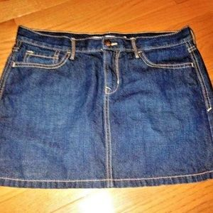 Old Navy Skirts - Old Navy Casual Party Mini Blue Denim Jean Skirt 8